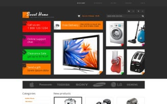 Sweet Home Magento Theme