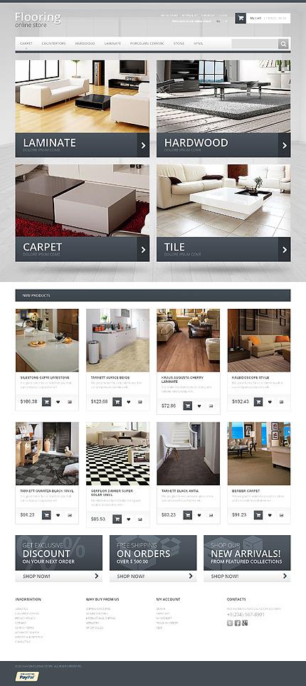 Magento Theme/Template 47182 Main Page Screenshot