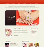 Beauty Moto CMS HTML  Template 47183
