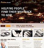 Religious Moto CMS HTML  Template 47186