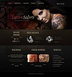 Beauty Moto CMS HTML  Template 47194