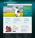 Religious Moto CMS HTML  Template 47196