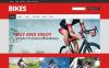 Адаптивний WooCommerce шаблон на тему велоспорт New Screenshots BIG