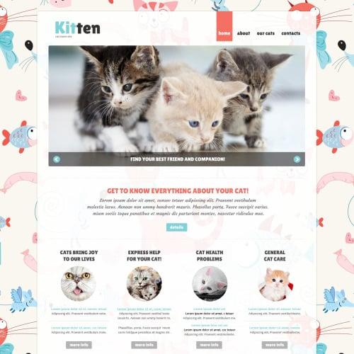 Kitten - Joomla! Template based on Bootstrap