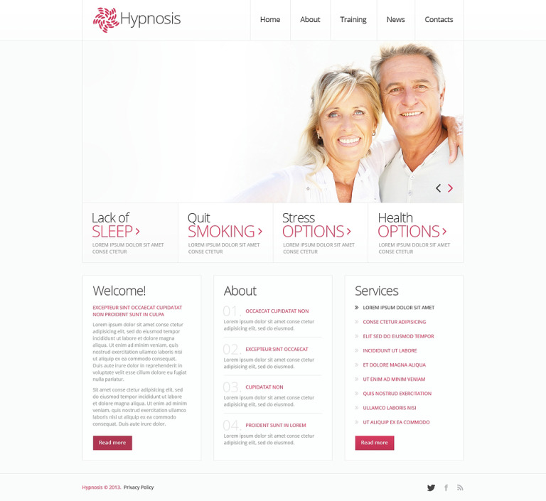 Family Psychologist Joomla Template New Screenshots BIG