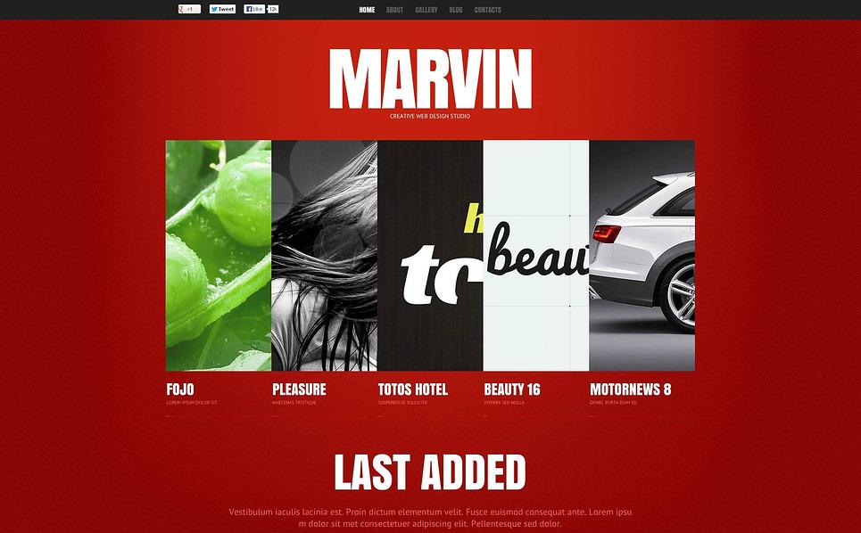 Flash CMS шаблоны №47148 на тему веб-дизайн New Screenshots BIG