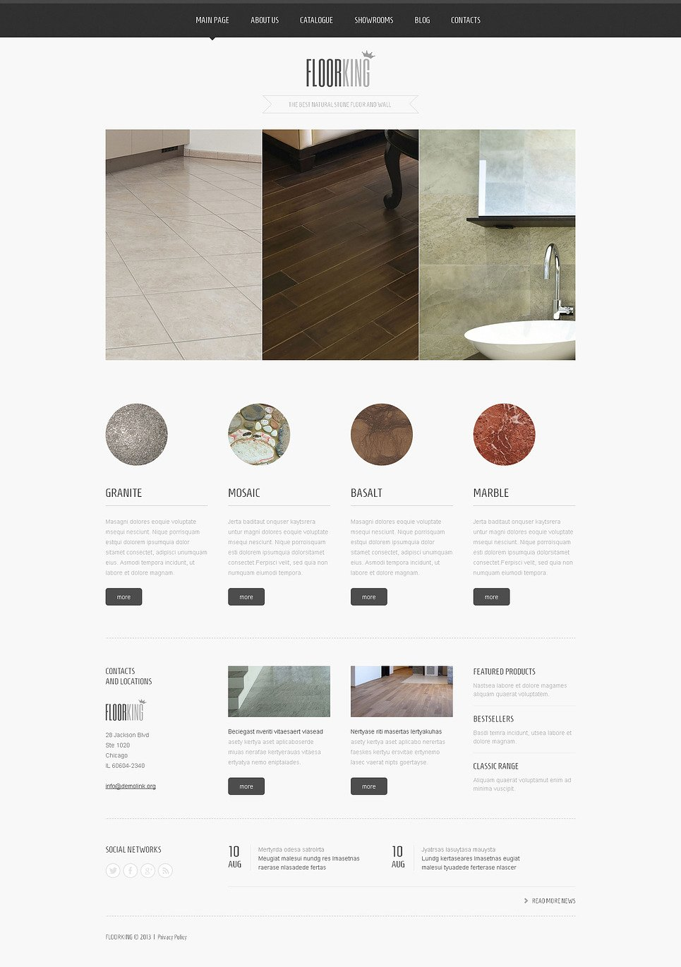 Grid Interior Design Joomla Template New Screenshots BIG