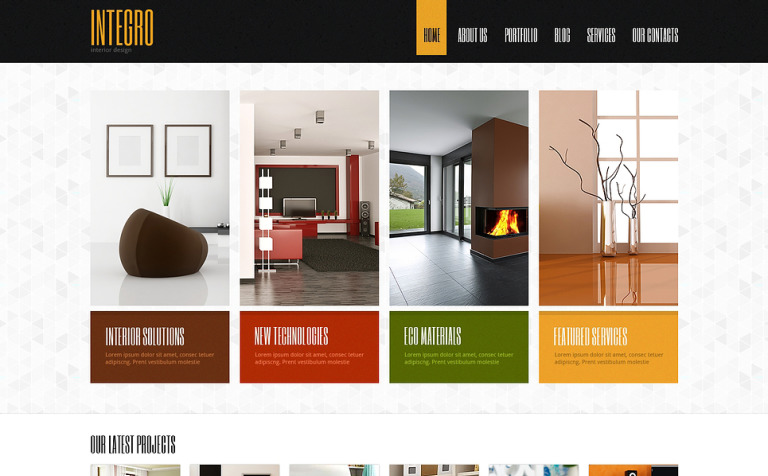 Interior Design for Profit Joomla Template