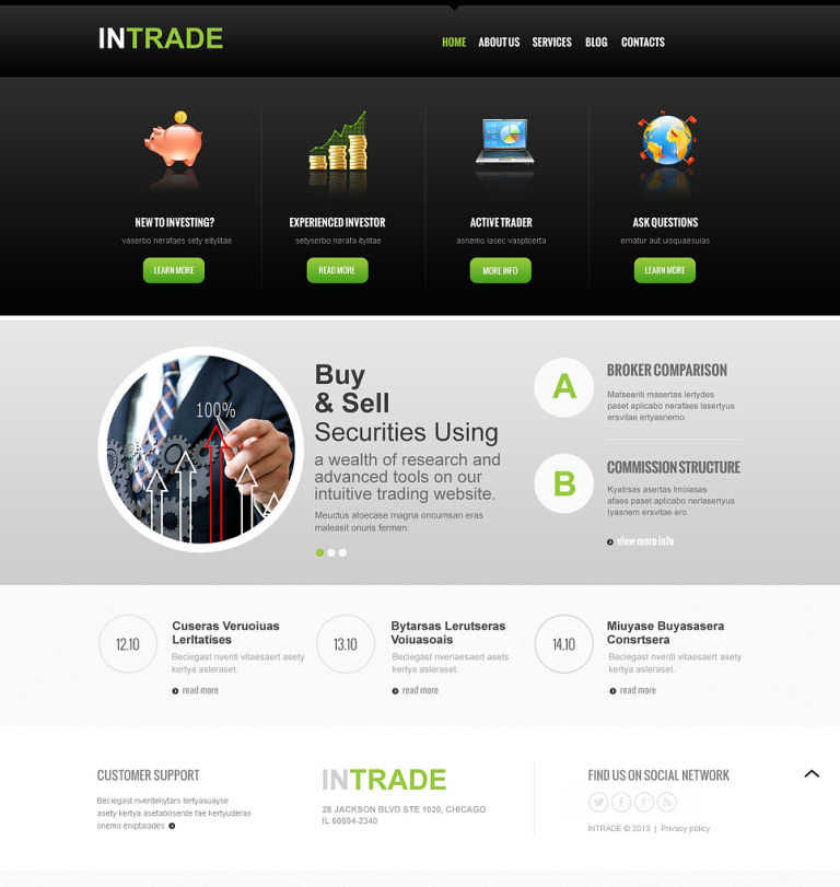 Investment Company Responsive Joomla Template New Screenshots BIG