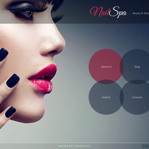 Nail Spa - Joomla! Template based on Bootstrap