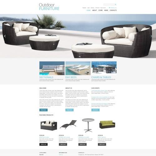 Outdoor Furniture - Woo Commerce Interior Designing Template