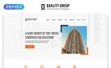 """Responzivní Šablona webových stránek """"Quality Group - Construction Company Clean Multipage HTML5"""""""