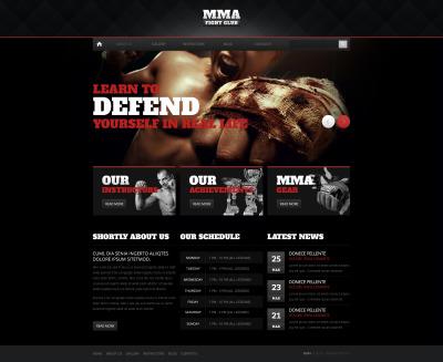 Martial Arts Drupal Template