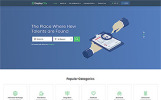 "Website Vorlage namens ""EmployCity - Job Portal Multipage HTML5"""