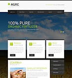 Agriculture Moto CMS HTML  Template 47207