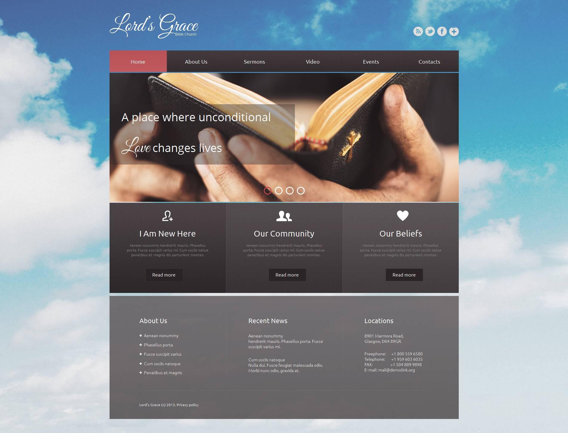 Создание красивых шаблонов для сайтов сайт компании альтернатива