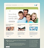 Religious Moto CMS HTML  Template 47222