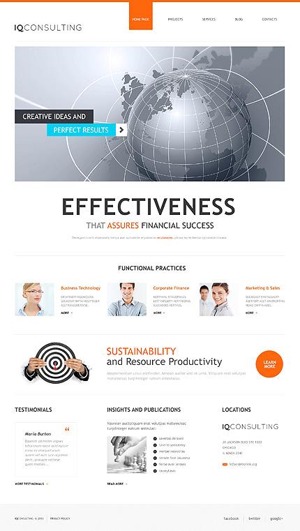 WordPress Theme/Template 47225 Main Page Screenshot