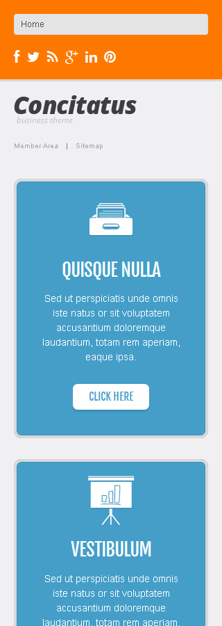 WordPress Theme/Template 47229 Main Page Screenshot
