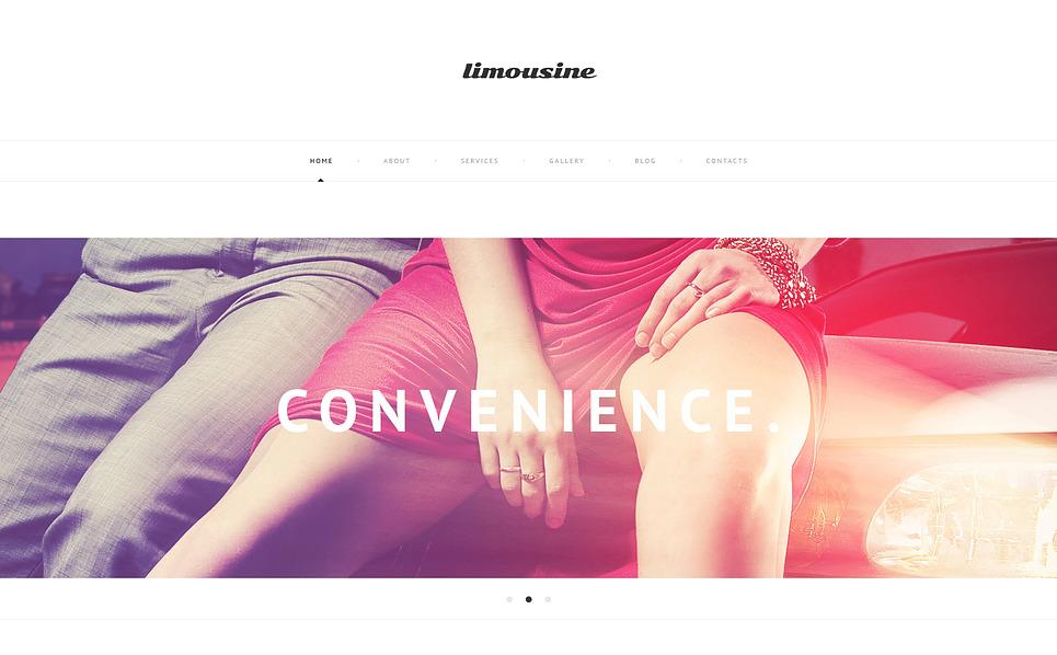 Responsive WordPress thema over Limousine Service  New Screenshots BIG