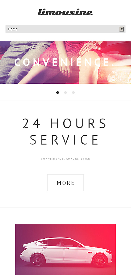 WordPress Theme/Template 47232 Main Page Screenshot