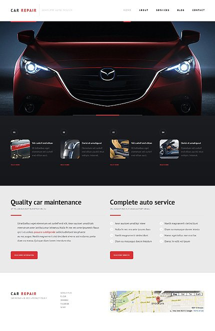 WordPress Theme/Template 47234 Main Page Screenshot