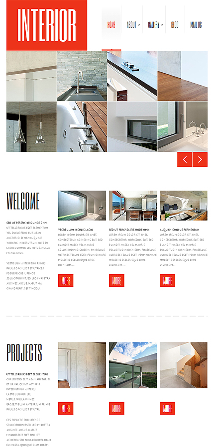 WordPress Theme/Template 47236 Main Page Screenshot