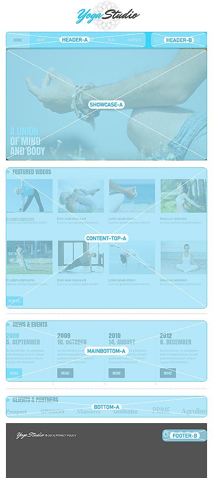 Joomla Theme/Template 47243 Main Page Screenshot