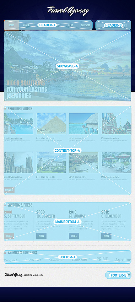 Joomla Theme/Template 47244 Main Page Screenshot