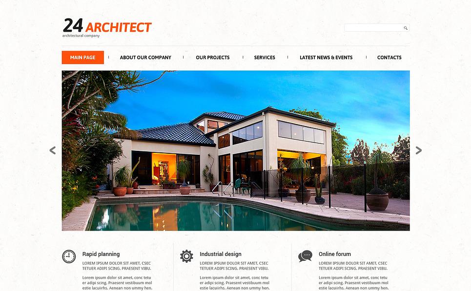 Reszponzív Építőipari vállalatok Joomla sablon New Screenshots BIG