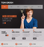 Personal Page Joomla  Template 47248