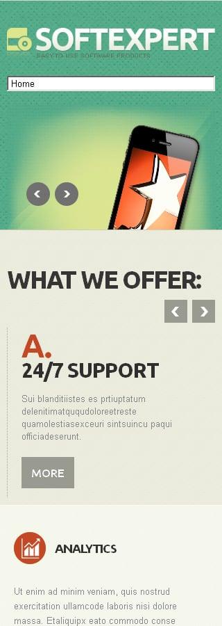 Joomla Theme/Template 47250 Main Page Screenshot