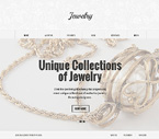 Jewelry Joomla  Template 47255