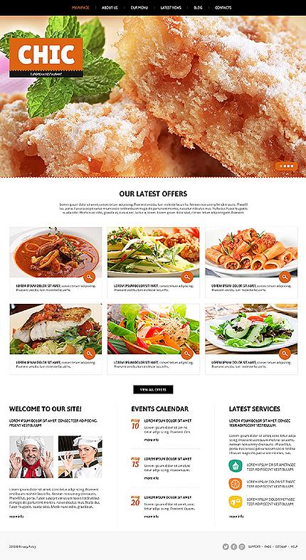 Joomla Theme/Template 47256 Main Page Screenshot