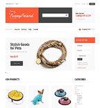 Animals & Pets VirtueMart  Template 47277