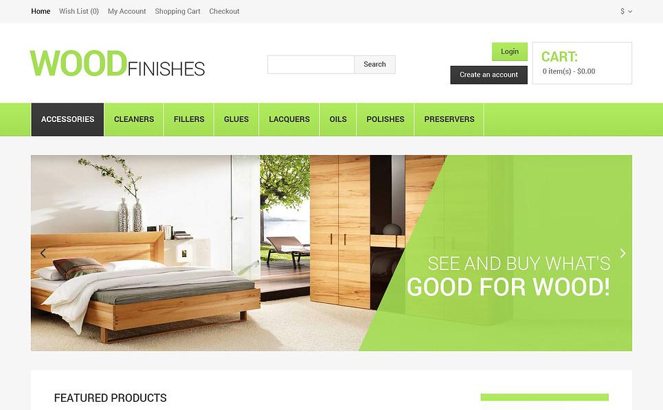 Tema OpenCart  #47280 per Un Sito di Pavimentazione New Screenshots BIG