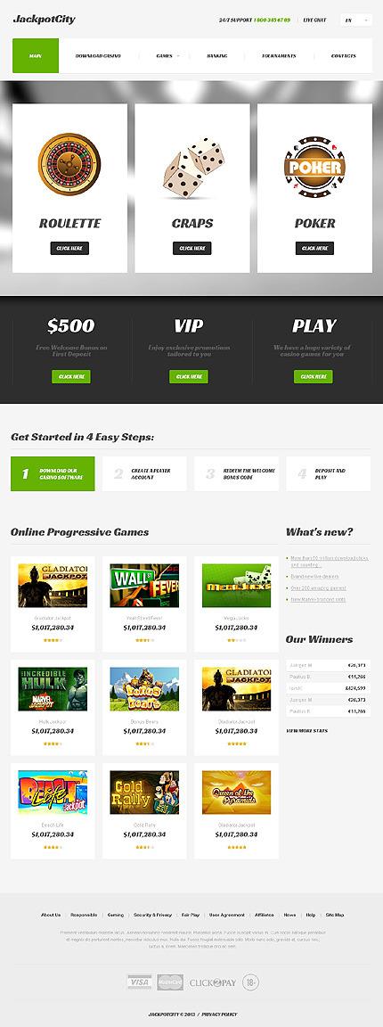 Casino Websites Templates