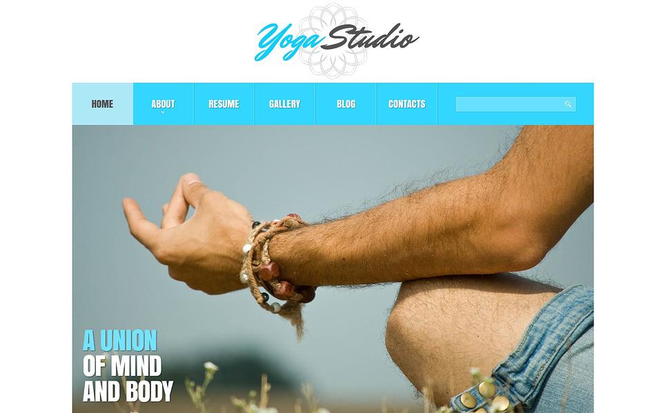 Адаптивный Joomla шаблон №47243 на тему йога New Screenshots BIG