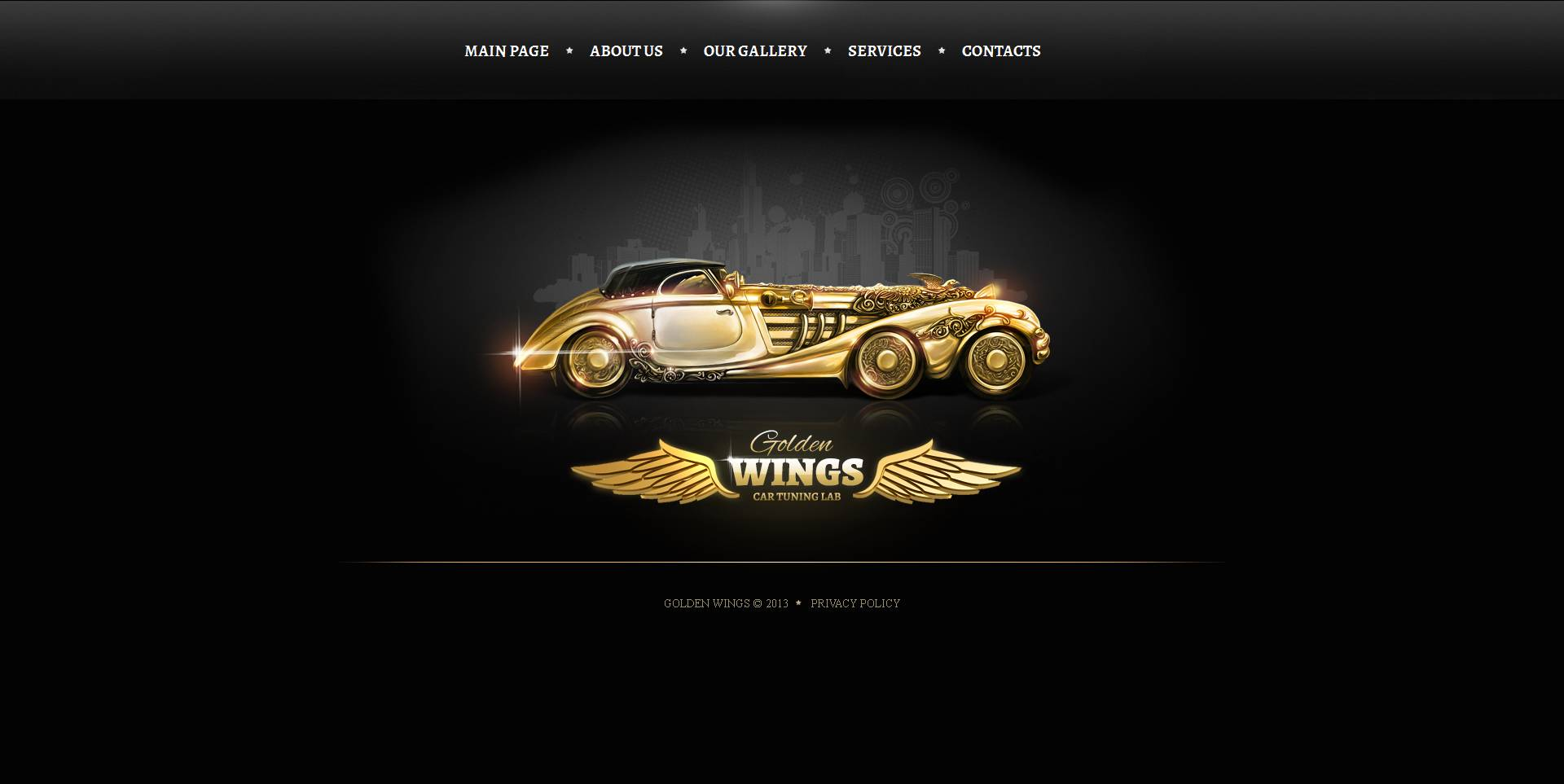 Car Tuning Moto CMS HTML Template
