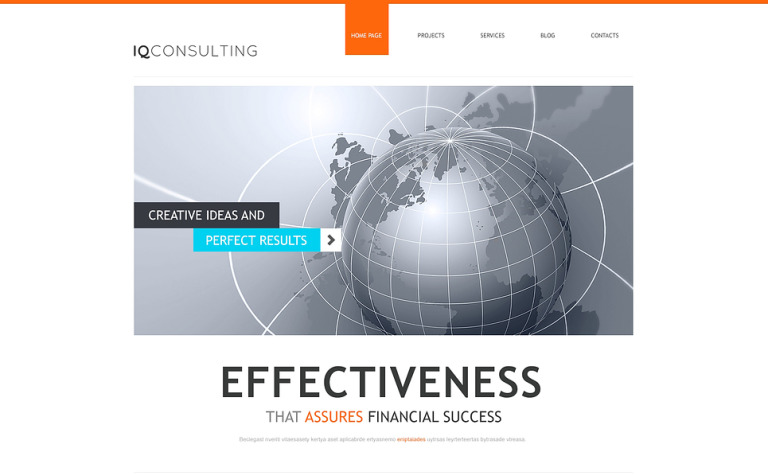 Consulting for Simplicity WordPress Theme
