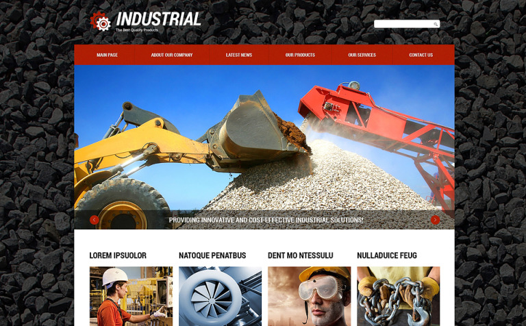 Industrial Beauty Joomla Template