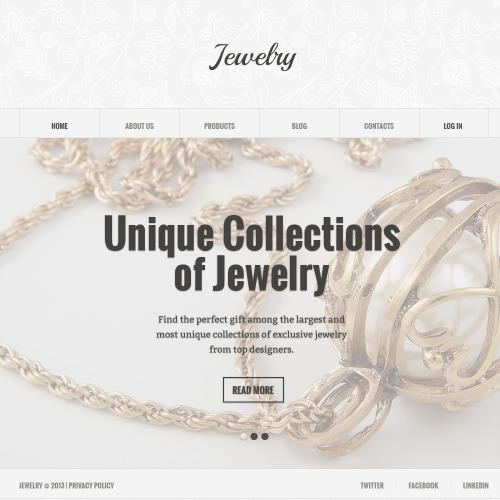 Jewelry - Responsive Joomla! Template