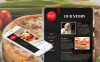 Premium Moto CMS HTML Template over Pizza  New Screenshots BIG