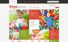 VirtueMart šablona Obchod s hračkami New Screenshots BIG
