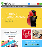 Electronics PrestaShop Template 47302