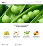 Agriculture Website  Template 47305