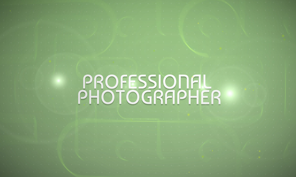 After Effects Intro over Fotograaf Portfolio New Screenshots BIG