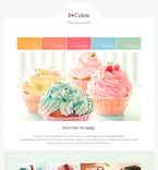 Food & Drink Website  Template 47310