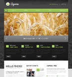 Agriculture Drupal  Template 47311