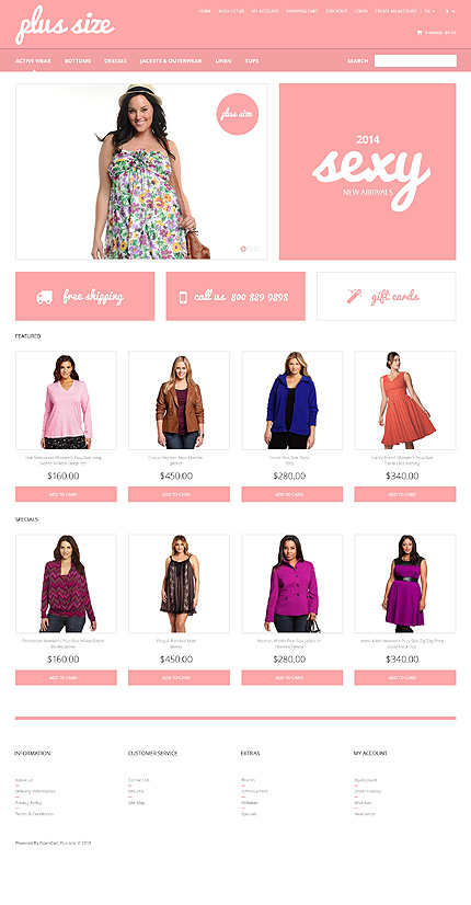 ADOBE Photoshop Template 47312 Home Page Screenshot